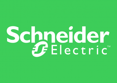 Schneider-Electric-Logo-Square-Green-Background